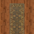 Allure 012e1 Brown Gray Machine Made 100% Nylon Sphinx Rugs