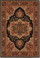 Antique Sarouk Black 2829/5123 Everest Area Rug by Couristan
