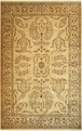 Antiquities AN05 Gold / Gold Hand Knotted 100% Wool MER Rugs