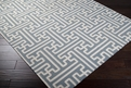 Archive ACH-1703 Pale Blue White Rug by Surya