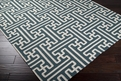 Archive ACH-1708 Turquoise White Rug by Surya