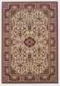 Ardebil Ivory/Red 3760/6004 Everest Area Rug by Couristan