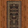 Ariana 213k8 Black Machine Woven 100% Polypropylene Sphinx Rugs