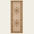 Ashton House <br>AS01 Beige <br>Machine Loomed <br>100% Wool <br>Nourison Rugs