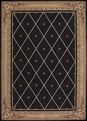 Ashton House AS03 Black Rug by Nourison