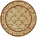Ashton House AS07 Beige Area Rug by Nourison
