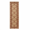 Ashton House <br>AS07 Beige <br>Machine Loomed <br>100% Wool <br>Nourison Rugs