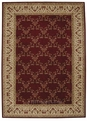 Ashton House AS07 Burgundy Area Rug by Nourison