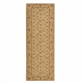 Ashton House <br>AS08 Gold <br>Machine Loomed <br>100% Wool <br>Nourison Rugs