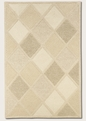 Astra White 2150/9600 Super Indo Natural Area Rug by Couristan