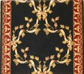 Barcelona BR01 Black European Carpet Stair Runner
