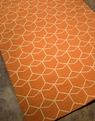 Barcelona Estrellas BA07 Red Orange Rug by Jaipur