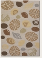 Couristan Barnegat Bay Sand 2121/5152 Escape Rug