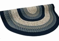 Beantown 1806-23 Charles River Blue Braided Area Rug by Thorndike Mills