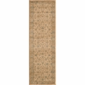 Belmont BE-02 Beige Machine Made Power-Loomed Polypropylene Momeni Rugs