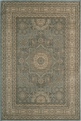 Belmont BE-03 Light Blue Area Rug by Momeni