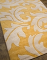 Blue Aloha BL-08 Golden Apricot/Antique White Area Rug by Jaipur