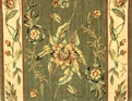 Botanical BO01 Green Floral Custom Runner