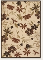 Botanical Gardens Sand TerraCotta 5712/1012 Urbane Outdoor Area Rug by Couristan