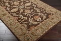 Caesar CAE-1009 Chocolate Rust Area Rug by Surya