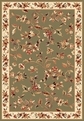 Cambridge 7332 Sage/Ivory Area Rug by Kas