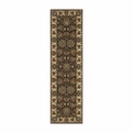 Nourison Cambridge Cg02 Chocolate Runner