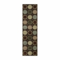Nourison Cambridge Cg06 Chocolate Runner