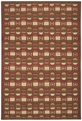 Capel Davenport 3627 500 Red Area Rug