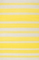 Capel Jagges Stripe 3624 100 Yellow Area Rug