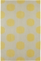 Capel Spots 3631 100 Yellow Area Rug