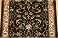 Century Fantasia 56013 Black Carpet Stair Runner