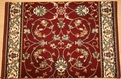 Century Fantasia 56014 Burgundy Carpet Stair Runner