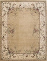 Chambord CM03 Gold Area Rug by Nourison