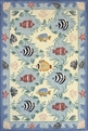 Coastal CC-01 Blue Area Rug by Momeni