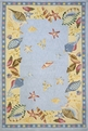 Coastal CC-04 Light Blue Area Rug by Momeni