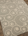 Coastal Living Nautilus CI-10 Gray Outdoor Area Rug by Jaipur