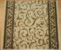 Como 1599 Ivory Carpet Stair Runner