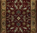 Corridor Garden 06 Red 25 Carpet Stair Runner