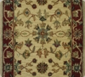 Corridor Madhu 12 Ivory 01 Carpet Stair Runner