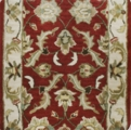 Corridor Monticello 02 Red 25 Carpet Stair Runner