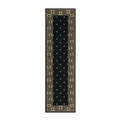 Cosmopolitan <br>CS95 Midnight <br>Machine Woven <br>100% Wool <br>Nourison Rugs