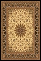 Cream Black 2800 190 Yazd Area Rug By Dynamic