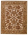 Cream Pink Monticello Area Rug by Capel