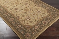 Crowne CRN - 6003 Gold Area Rug by Surya