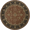 Crowne CRN - 6005 Rust Area Rug by Surya