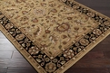 Crowne CRN - 6007 Gold Area Rug by Surya