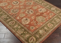 Crowne CRN - 6019 Dark Rust Area Rug by Surya