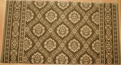 Danbury CBD0-B004a Fern Green/Beige Carpet Stair Runner