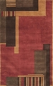 Dimensions ND13 Rust Rug by Nourison