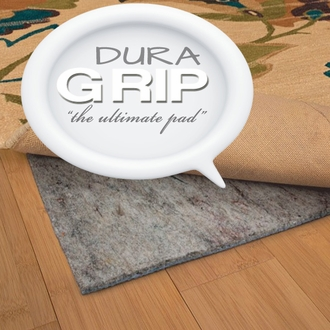 Dura Grip Rug Padding 1 4 Thick Area Rug Pads Shop All Non Skid Area Rug Padding